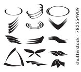 simple abstract shapes for your ... | Shutterstock .eps vector #782554909