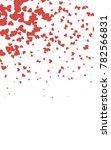 light red vertical greeting... | Shutterstock . vector #782566831