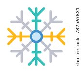 snowflake christmas and... | Shutterstock .eps vector #782569831