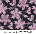 concept abstract floral... | Shutterstock .eps vector #782570641