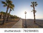 landscape els terrers beach  in ... | Shutterstock . vector #782584801