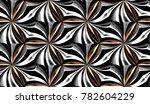 design metallic texture with... | Shutterstock . vector #782604229