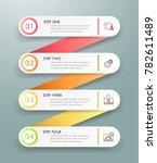 design infographic template 4... | Shutterstock .eps vector #782611489