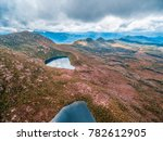 aerial view of high mountain... | Shutterstock . vector #782612905