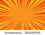 abstract colorful comic radial... | Shutterstock .eps vector #782650939