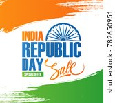 india republic day sale banner. ... | Shutterstock .eps vector #782650951