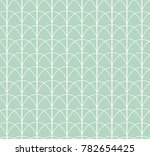 vintage art deco seamless... | Shutterstock .eps vector #782654425