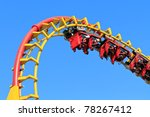 rollercoaster ride  against... | Shutterstock . vector #78267412