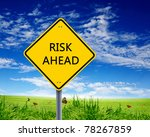 yellow road sign as a warning... | Shutterstock . vector #78267859