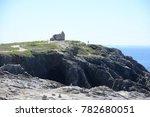 ruin at cote sauvage  quiberon  ... | Shutterstock . vector #782680051