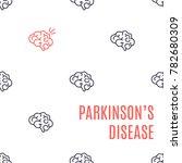 parkinson's disease poster....   Shutterstock .eps vector #782680309