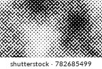 abstract halftone pattern... | Shutterstock .eps vector #782685499