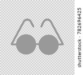 glasses vector icon eps 10.... | Shutterstock .eps vector #782696425