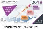 business infographics template  ... | Shutterstock .eps vector #782704891