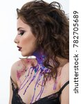 portrait of beautiful sexy...   Shutterstock . vector #782705689