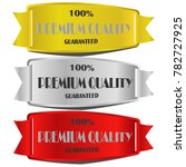 premium quality guaranteed sale ... | Shutterstock .eps vector #782727925