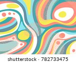 creative geometric colorful... | Shutterstock .eps vector #782733475