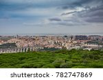 view of the city or lisbon in...   Shutterstock . vector #782747869
