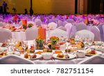 wedding hall or other function... | Shutterstock . vector #782751154