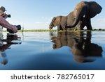 a horizontal  surface level ... | Shutterstock . vector #782765017