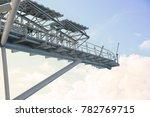 offshore construction platform... | Shutterstock . vector #782769715