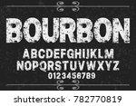 font alphabet script typeface... | Shutterstock .eps vector #782770819
