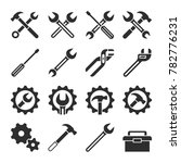 technology and maintenance... | Shutterstock . vector #782776231