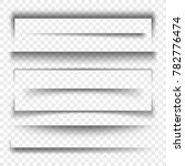 paper banner and dividers... | Shutterstock . vector #782776474