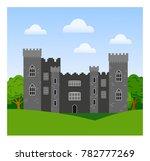 malahide castle in ireland. | Shutterstock .eps vector #782777269