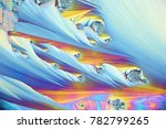 crystals of a common painkiller ...   Shutterstock . vector #782799265