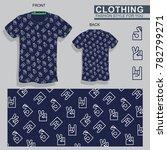 mens  fashion  men  finger ...   Shutterstock .eps vector #782799271