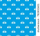 large sports bag pattern repeat ... | Shutterstock . vector #782832601
