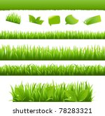 collection eco design elements  ... | Shutterstock .eps vector #78283321