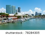 View Of The Miami Bayside...
