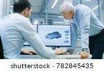 industrial designer has...   Shutterstock . vector #782845435