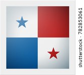 north america continent flag... | Shutterstock .eps vector #782853061