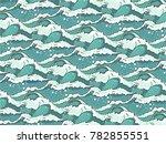 wave pattern vector | Shutterstock .eps vector #782855551
