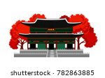 gyeongbokgung palace. seoul ... | Shutterstock .eps vector #782863885