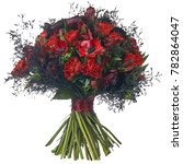 bouquet of different colors   Shutterstock . vector #782864047