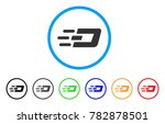 fast send dash rounded icon.... | Shutterstock .eps vector #782878501