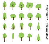 Vector Collection Of Trees...