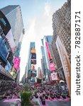 new york city  usa   june 20 ... | Shutterstock . vector #782887171