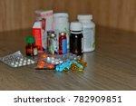 drug prescription for treatment ... | Shutterstock . vector #782909851