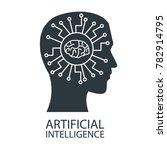 robot artificial intelligence | Shutterstock .eps vector #782914795