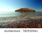 beach and island in guaymas ... | Shutterstock . vector #782920561