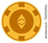 ethereum classic golden casino... | Shutterstock .eps vector #782925961