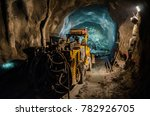 mechanic of mining machines | Shutterstock . vector #782926705