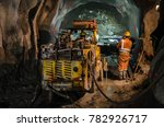 mechanic of mining machines | Shutterstock . vector #782926717