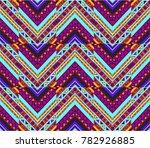 geometric folklore ornament....   Shutterstock .eps vector #782926885