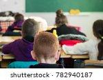 children actively participate... | Shutterstock . vector #782940187